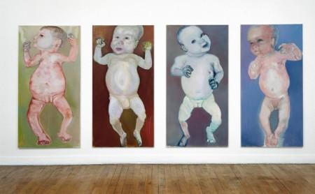 baby's in museum